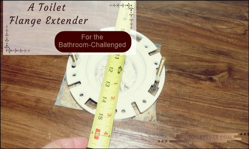 A Toilet Flange Extender