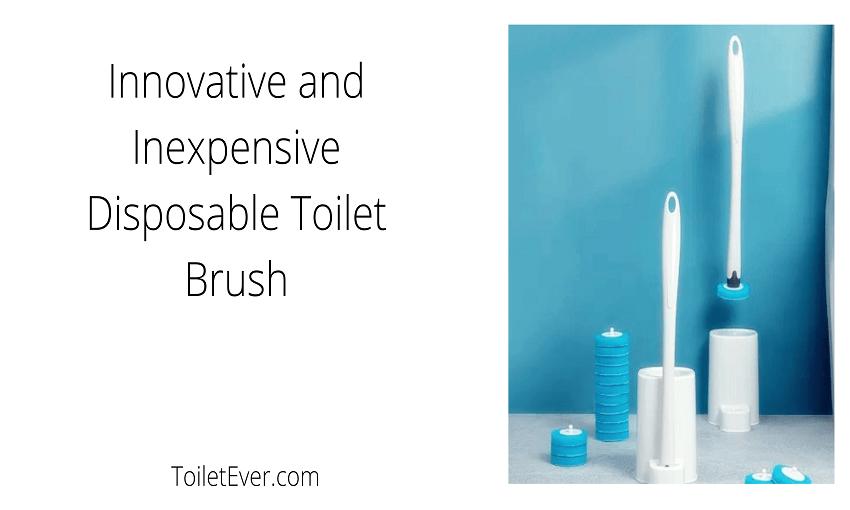Disposable Toilet Brush