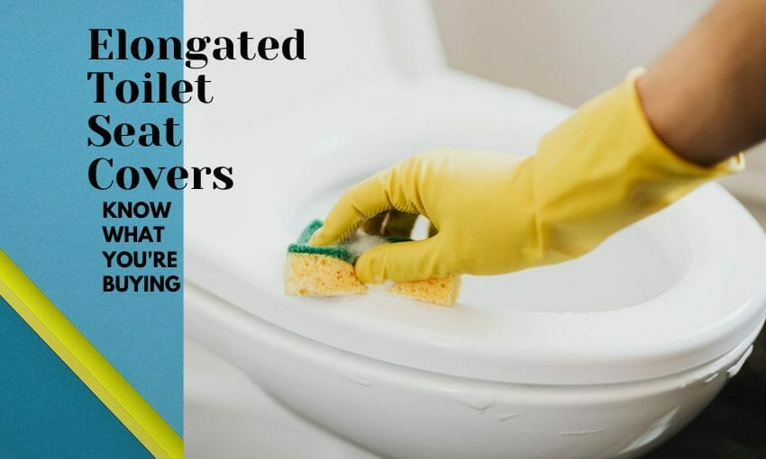 Elongated Toilet Seat Covers