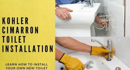Kohler Cimarron Toilet Installation