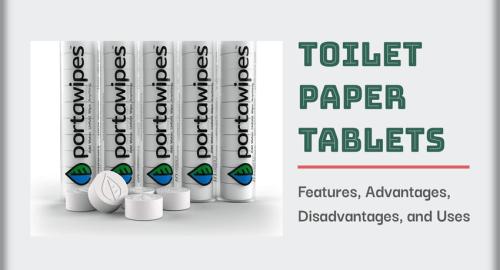Toilet Paper Tablets