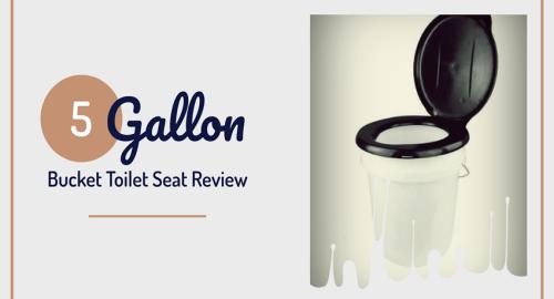 5 Gallon Bucket Toilet Seat Review