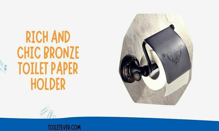 Bronze Toilet Paper Holder