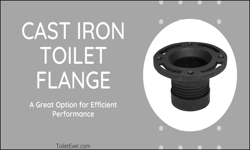 Cast Iron Toilet Flange