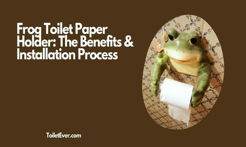 Frog Toilet Paper Holder