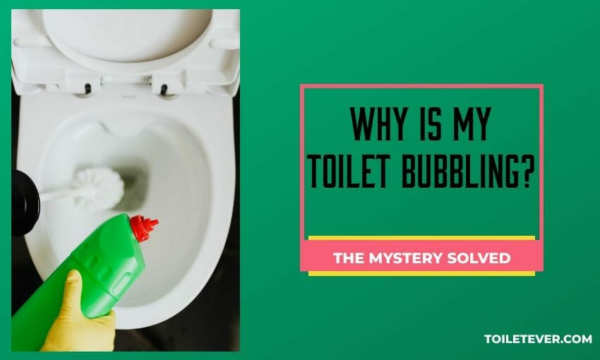 Why is My Toilet Bubbling