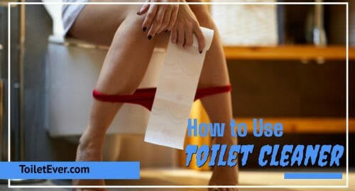 How to Use Toilet Cleaner